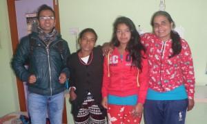Här är vårt gäng i Nepal!